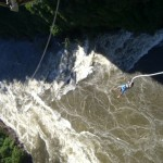 bungee jump on the Zambezi River